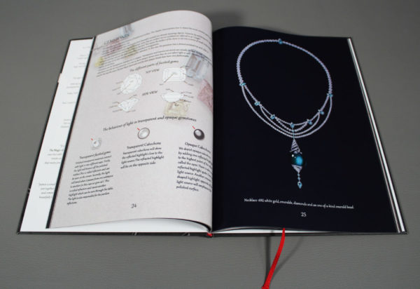 Book 1 page emerald bead